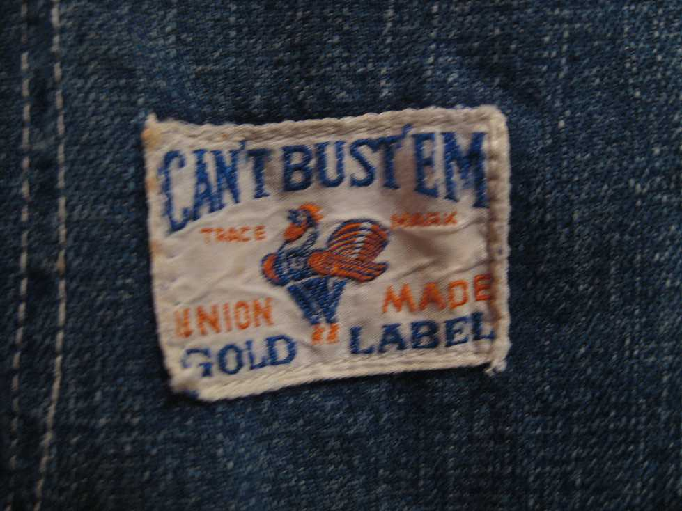 ~40\'s CAN\'T BUST\'EM DENIM All In One_e0187362_183372.jpg