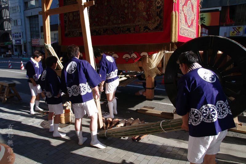 京都祇園祭・山鉾巡行の朝_a0157263_2210262.jpg