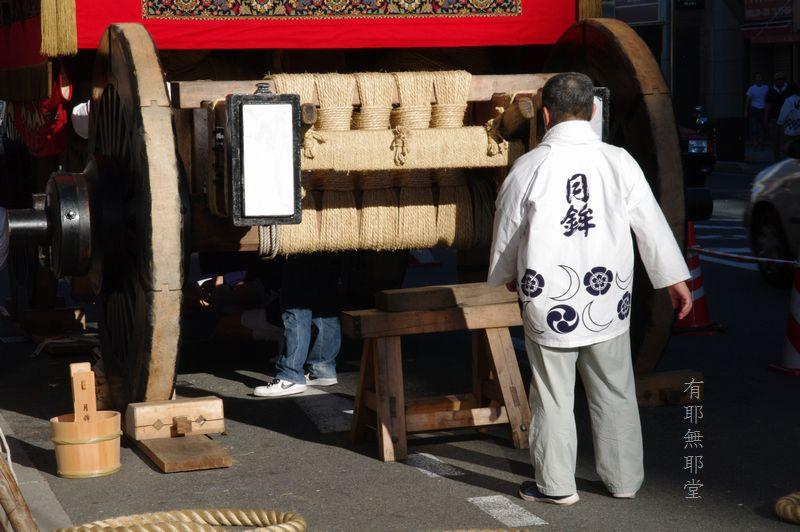 京都祇園祭・山鉾巡行の朝_a0157263_2295873.jpg