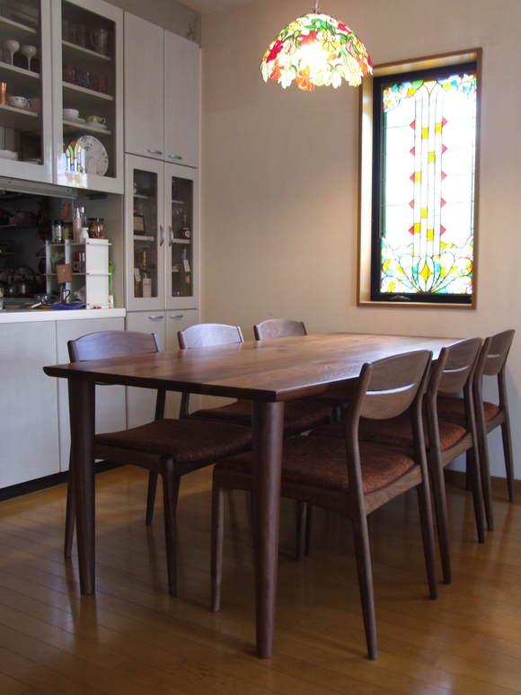 ステンドグラスが素敵な富山市K様邸 納品 【つづき】_d0224984_1621105.jpg