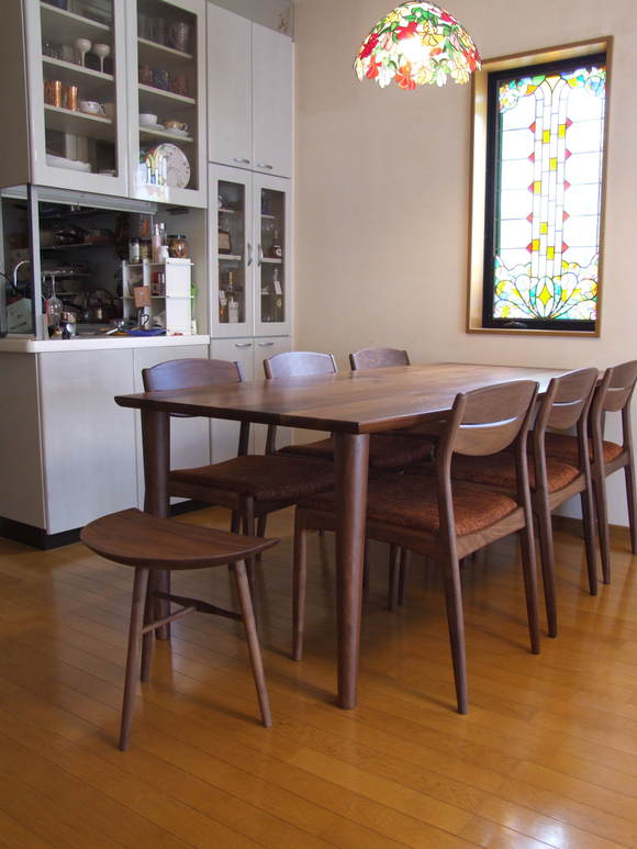 ステンドグラスが素敵な富山市K様邸 納品 【つづき】_d0224984_1622236.jpg