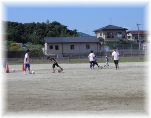 8月のサッカー教室_c0218303_23251134.jpg