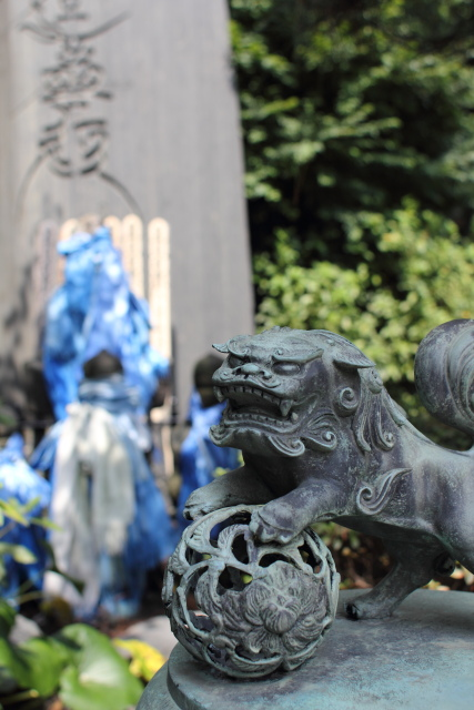 江ノ島  常立寺の「元使塚」_b0061717_473659.jpg