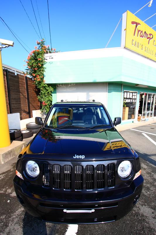 08モデル Jeepパトリオット入庫_f0105425_17245545.jpg