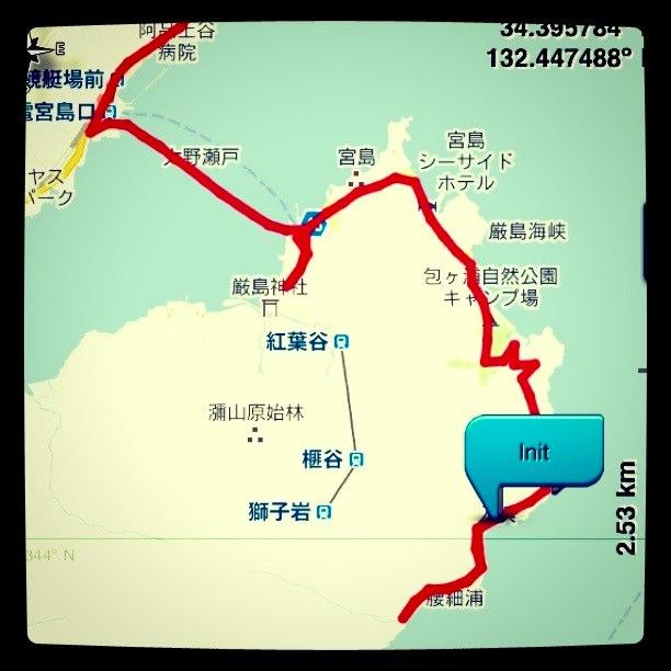 ●チョイノリで宮島探検_a0033733_2074958.jpg