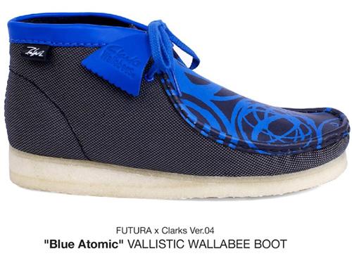 Futura×Clarks Wallabee Boot vol.4_b0172940_19395339.jpg