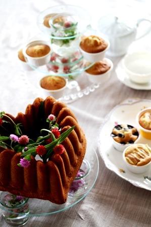午後の紅茶*  ノルディックの型はやっぱり美味しく焼ける!_d0034447_15301340.jpg
