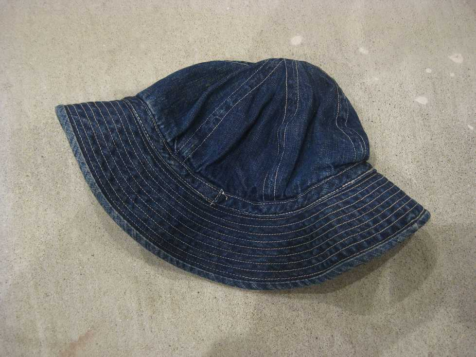 ~40\'s U.S ARMY DENIM HAT_e0187362_14161795.jpg