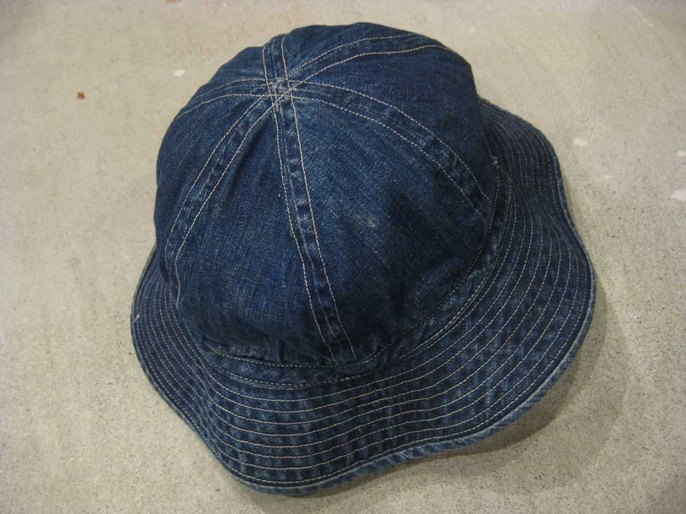 ~40\'s U.S ARMY DENIM HAT_e0187362_14162611.jpg