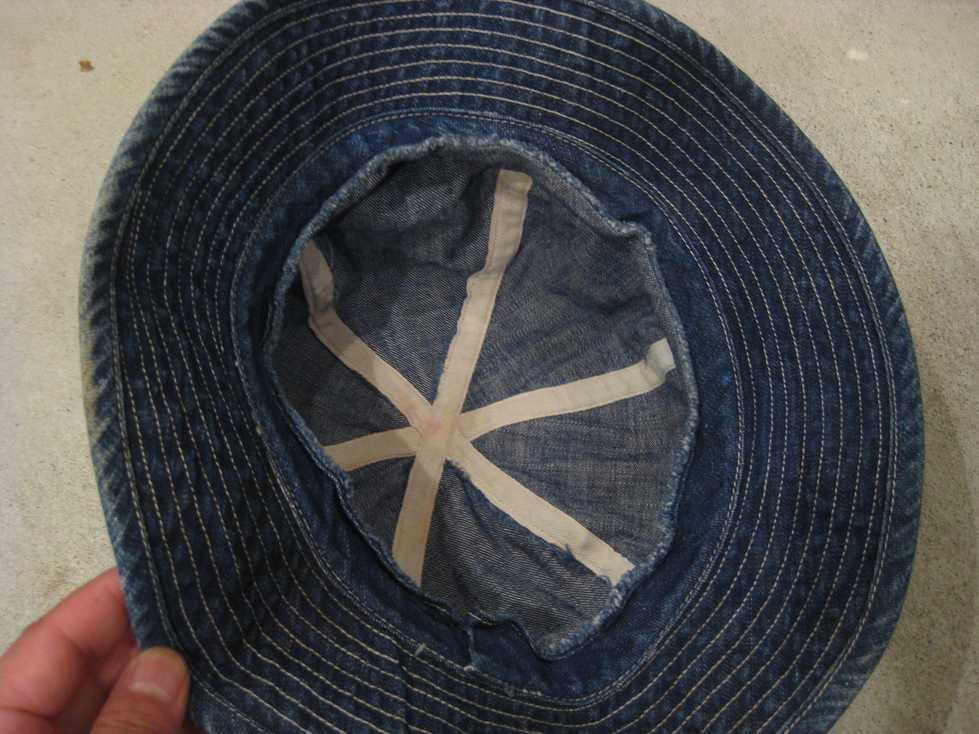 ~40\'s U.S ARMY DENIM HAT_e0187362_14163654.jpg