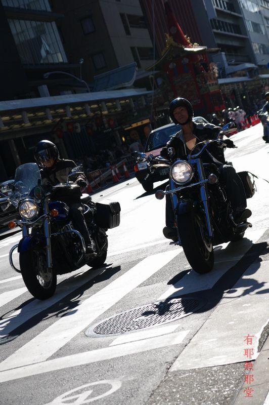 京都祇園祭・山鉾巡行の朝_a0157263_2215592.jpg
