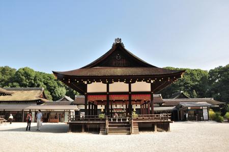 早朝散歩 下賀茂神社_e0164563_11382362.jpg