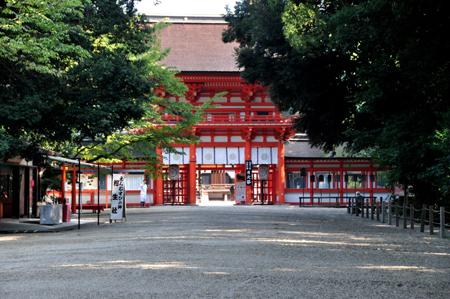 早朝散歩 下賀茂神社_e0164563_1138623.jpg