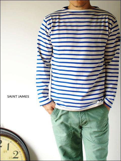 """SAINT JAMES [セントジェームス] OUESSANT \""""BORDER\"""" [ウエッソン \""""ボーダー\""""]_f0051306_16464152.jpg"""