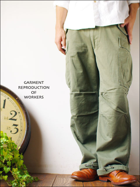 RERESERCH&DEPELOPMENT by GARMENT REPRODUCTION OF WORKERS  m-51 modified MEN\'S_f0051306_1650357.jpg