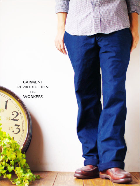 RESERCH&DEPELOPMENT by GARMENT REPRODUCTION OF WORKERS  WOKERS PANTS ワーカーズパンツ MEN\'S_f0051306_16525920.jpg