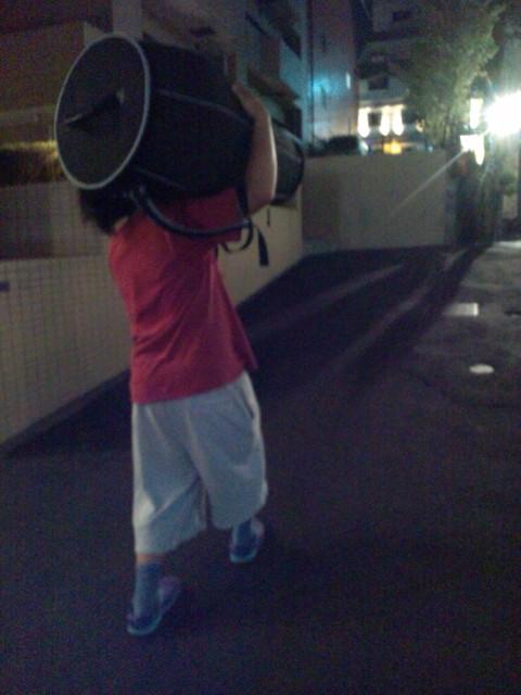 ♬太鼓を搬入完了!☆豪華Singer,Dancerも出演☆●9/3 SATへの道!  @loco2kit @DIYZ @iamamwe ▶_b0032617_23133968.jpg