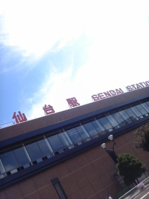 仙台駅到着_b0099226_1130581.jpg