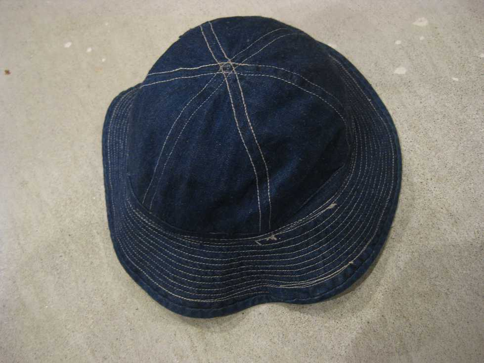 WWⅡ U.S ARMY DENIM HAT_e0187362_11185838.jpg