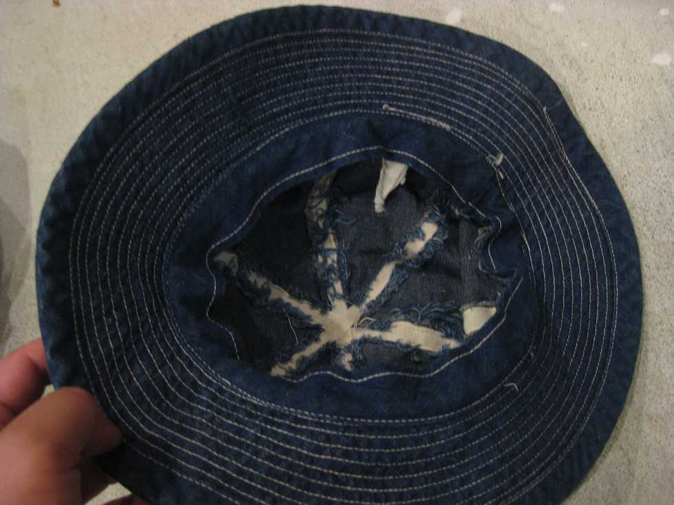 WWⅡ U.S ARMY DENIM HAT_e0187362_11191166.jpg