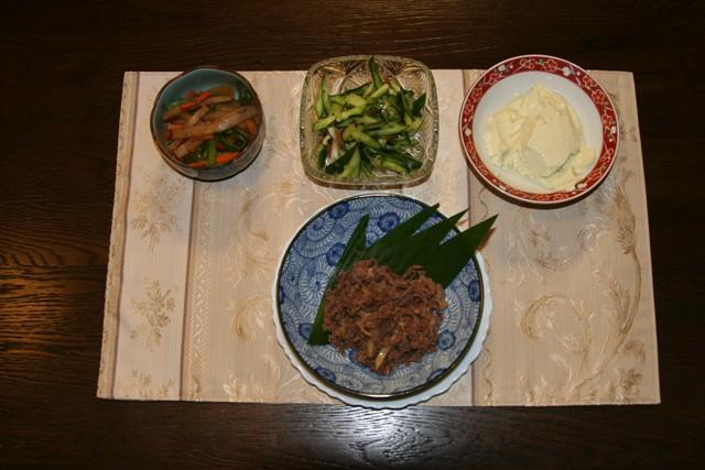 ★牛肉のしぐれ煮_f0229190_1124275.jpg