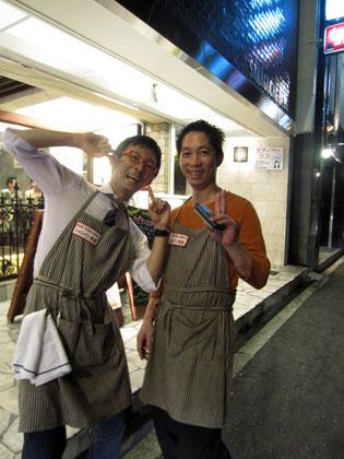 シャンパン食堂 @北新地_b0118001_2301925.jpg