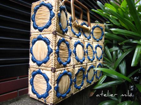 夏の定番ー祖母の手作りバッグ_d0154102_2332250.jpg