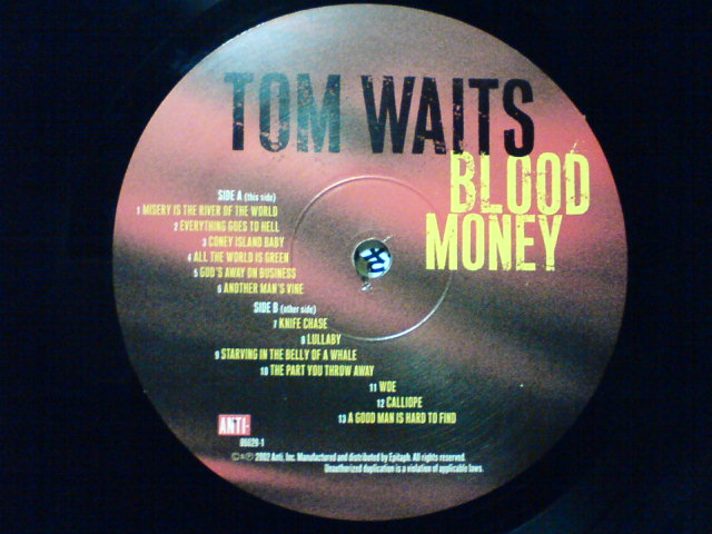Blood Money / Tom Waits_c0104445_22285957.jpg
