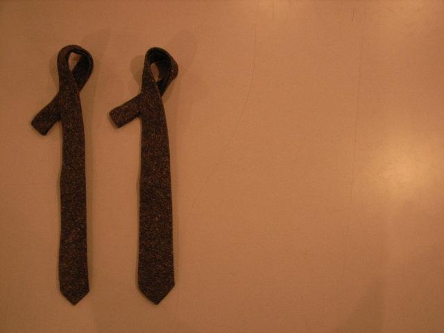 "\""TheThreeRobbers necktie FLANNEL/ORDER\""ってこんなこと。_c0140560_1222186.jpg"