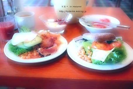 朝食 in Helsinki :) ♪_e0173666_793311.jpg