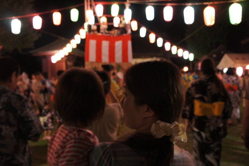 盆踊り  2011.8.28_e0223771_18205850.jpg
