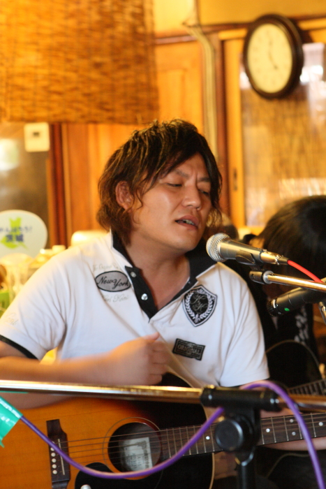 LOVE MUSIC IN 煉瓦屋 <6> 常陸太田市三才町_e0143883_1650553.jpg