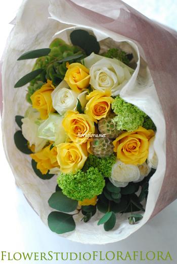 WEDDING 贈呈用花束 **画像リクエストを多くいただくアイテム_a0115684_0523622.jpg