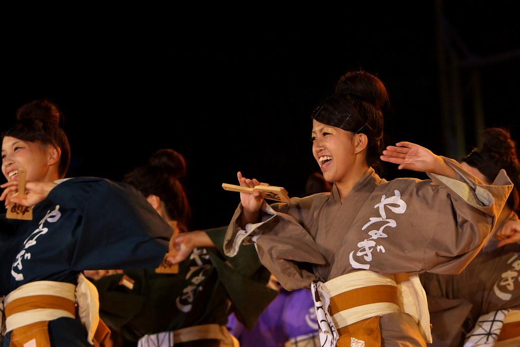 第13回日本ど真ん中祭り:岐阜聖徳学園大学 柳 その1_c0187584_1951195.jpg