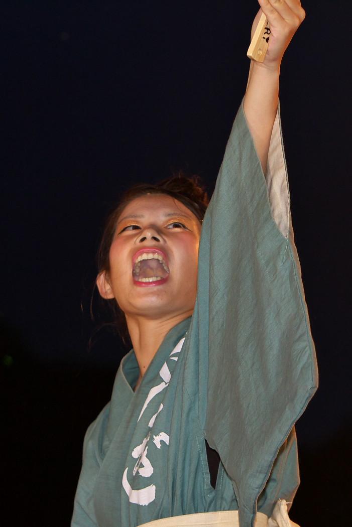 第13回日本ど真ん中祭り:岐阜聖徳学園大学 柳 その1_c0187584_1952563.jpg