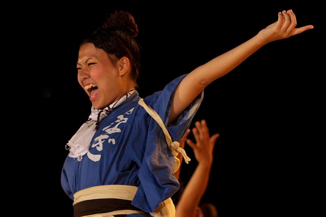 第13回日本ど真ん中祭り:岐阜聖徳学園大学 柳 その1_c0187584_1953236.jpg