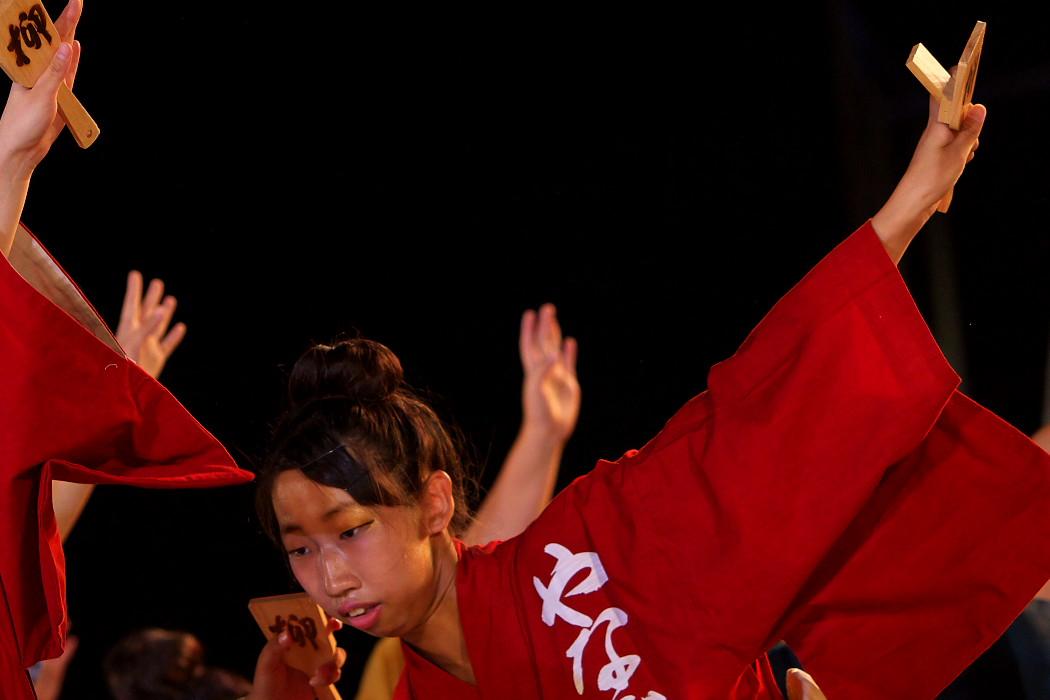 第13回日本ど真ん中祭り:岐阜聖徳学園大学 柳 その1_c0187584_1954123.jpg