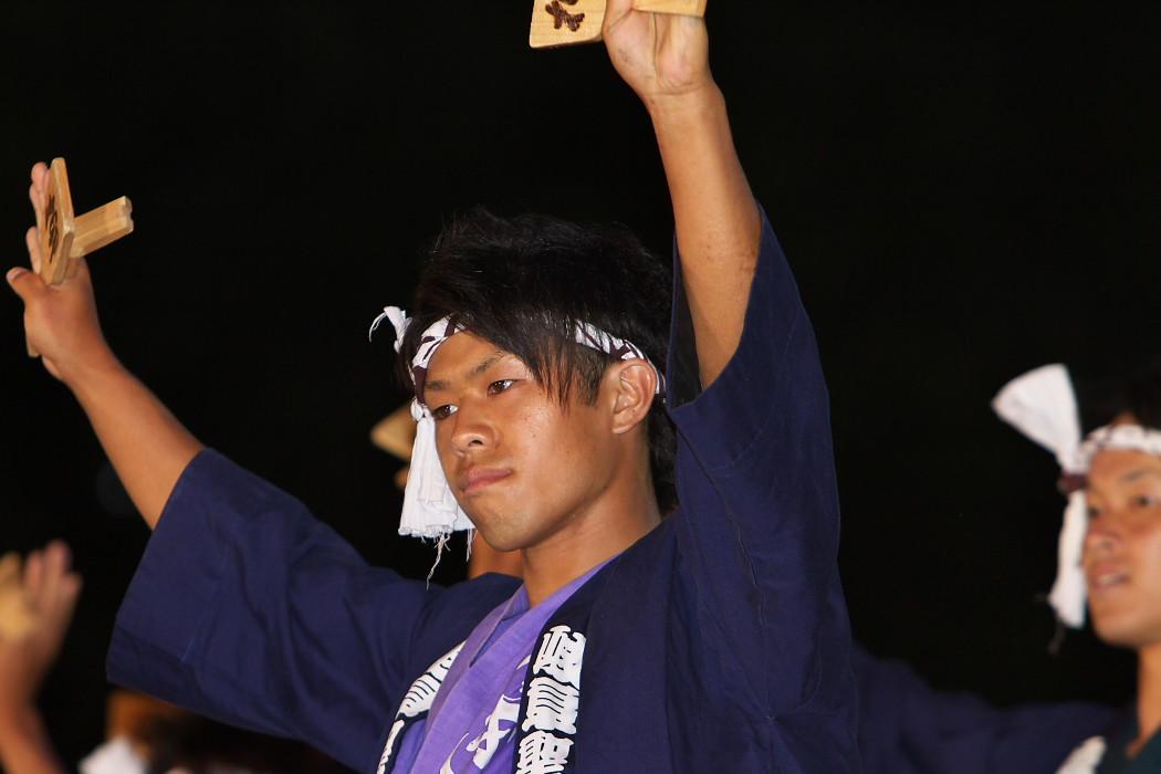 第13回日本ど真ん中祭り:岐阜聖徳学園大学 柳 その1_c0187584_195460.jpg