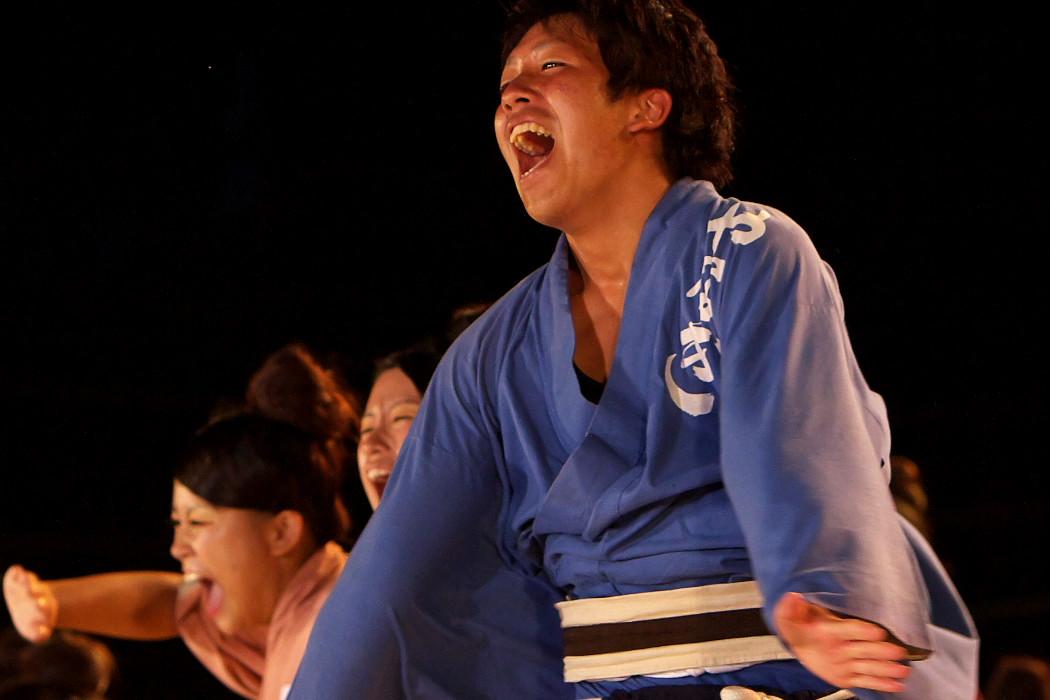 第13回日本ど真ん中祭り:岐阜聖徳学園大学 柳 その1_c0187584_1972671.jpg