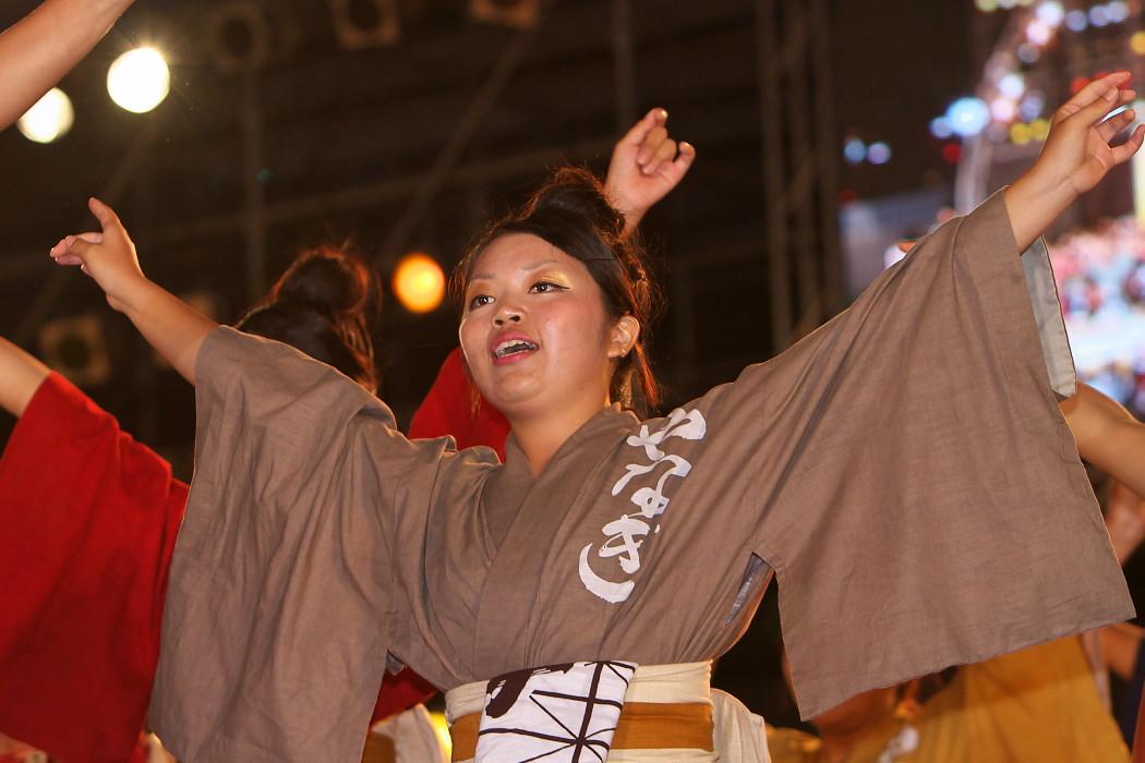 第13回日本ど真ん中祭り:岐阜聖徳学園大学 柳 その1_c0187584_1981817.jpg