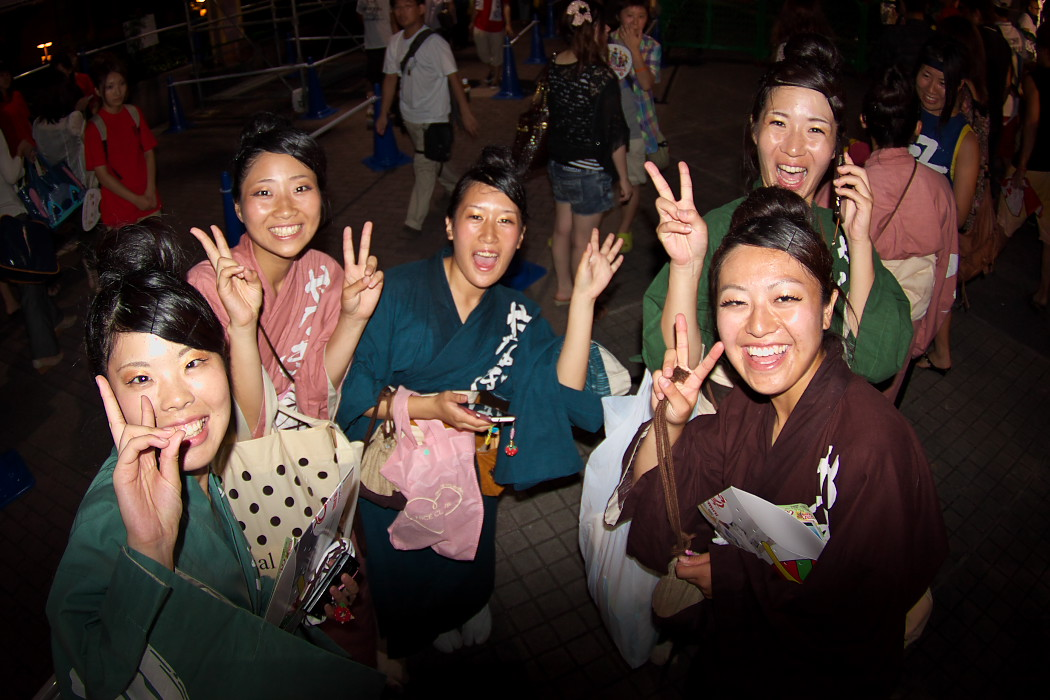 第13回日本ど真ん中祭り:岐阜聖徳学園大学 柳 その1_c0187584_1995442.jpg