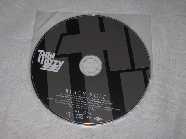 THIN LIZZY / BLACK ROSE A ROCK LEGEND (DELUXE EDITION) (紙ジャケ)_b0042308_19144071.jpg