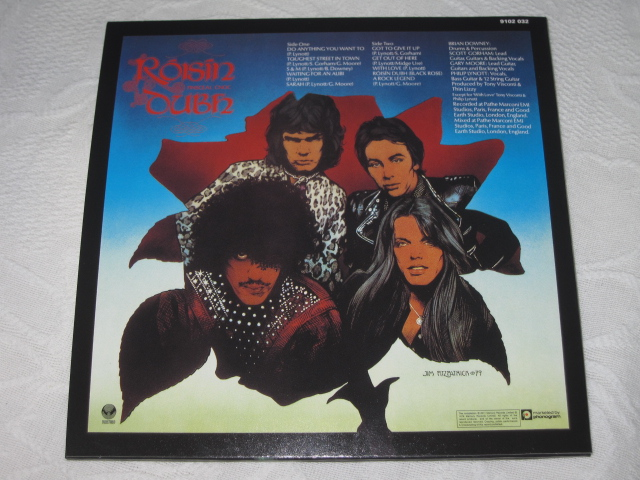 THIN LIZZY / BLACK ROSE A ROCK LEGEND (DELUXE EDITION) (紙ジャケ)_b0042308_1984049.jpg