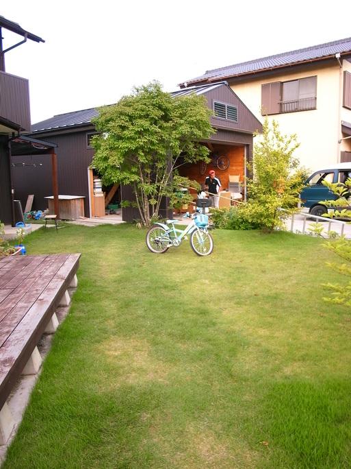 Hさんの家(2009) 車庫改修工事 2011/8/30_a0039934_17435314.jpg