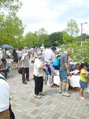 MOTTAINAIフリーマーケット開催報告@木場公園_e0105047_12545433.jpg
