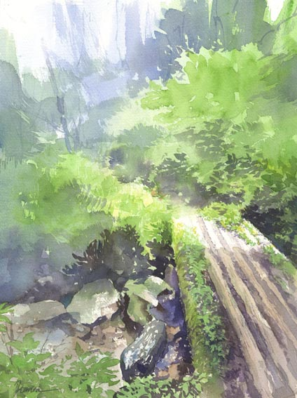 水彩画 タイトル未定_f0176370_173568.jpg
