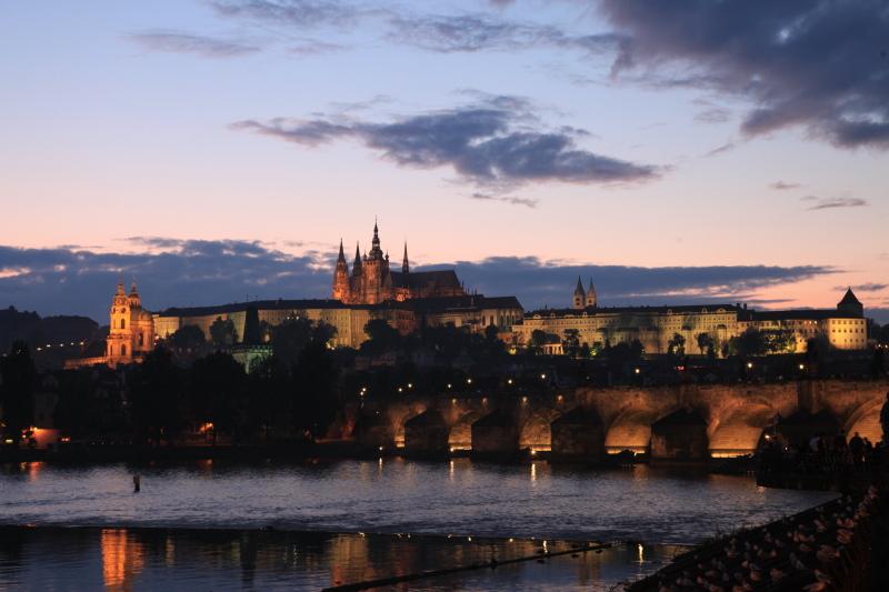 プラハの夜景_c0187779_6545328.jpg