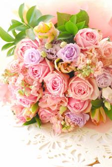WEDDING 贈呈用花束 **画像リクエストを多くいただくアイテム_a0115684_23374217.jpg