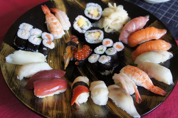 たまには昼から寿司!_c0180686_2057833.jpg