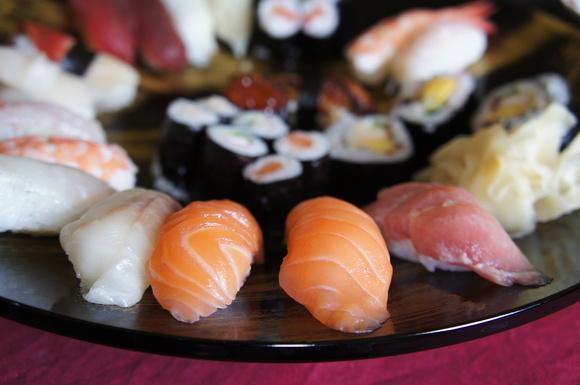 たまには昼から寿司!_c0180686_2134413.jpg